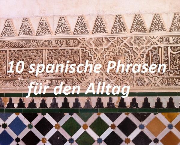 Etwas kennenlernen spanisch