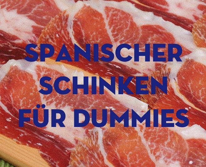 spanischer schinken
